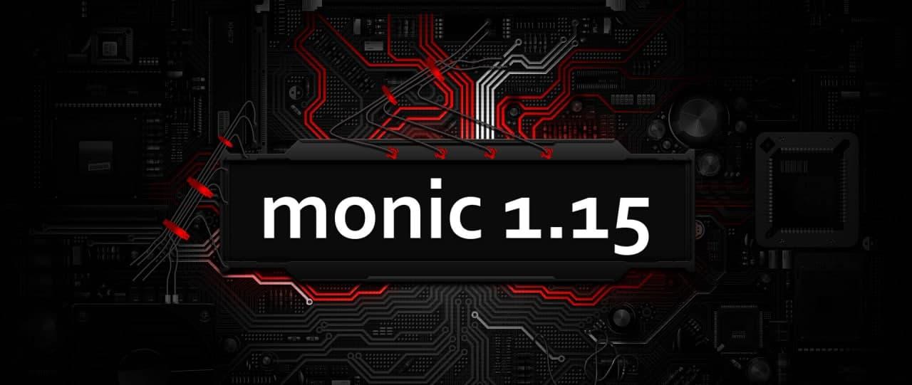 Новая версия Monic 1.15
